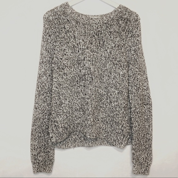 H&M Mixed Grey Knit Sweater